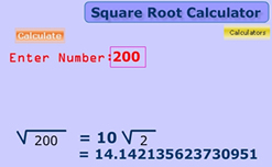 Qt 44 calculating square root by division method youtube.