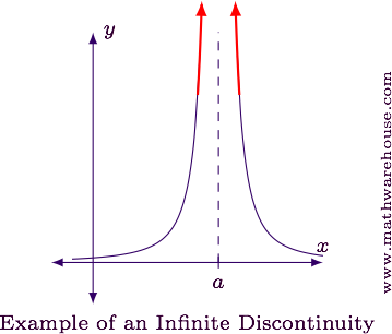 What are the types of Discontinuities, Explained with graphs