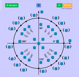 Unit Circle Game