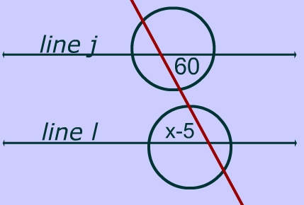 Practice Problems: Parallel Lines, Transversals and Angles Formed