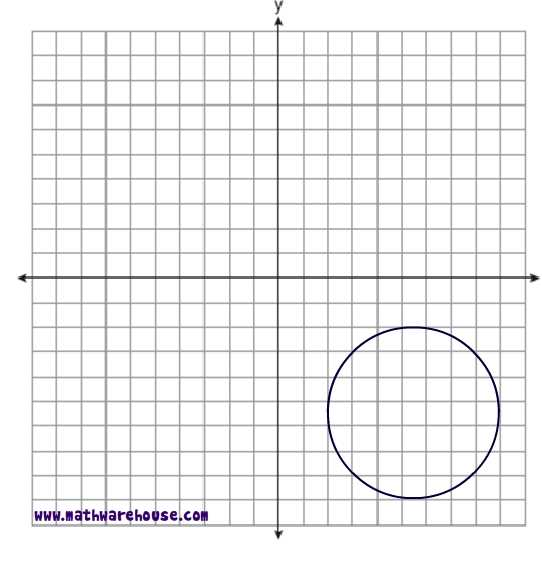 Equation of Circle Worksheet pdf Free worksheet with visual – Graphing Circles Worksheet