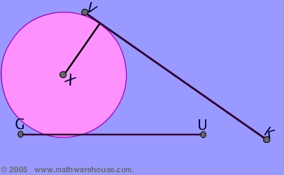 Tangent of a Circle | MathCaptain.com