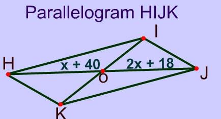 Properties Related Keywords & Suggestions - Parallelogram Properties ...