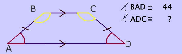 Isosceles Trapezoid Base Angles Base angles of isosceles