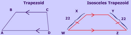 Isosceles Trapezoid Base Angles The gallery for -->...