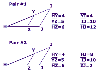 theorems and postulates that prove two triangles are similar how to