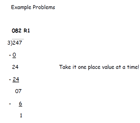Long Division with Remainders worksheet with answer key (pdf). 21 ...