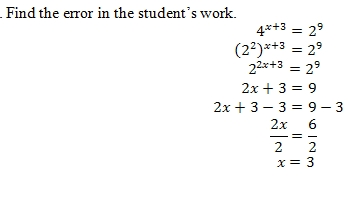 Equations With Variables In Exponents Worksheet Pdf And Answer Key