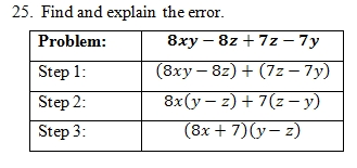 Factor by Grouping Worksheet (pdf) and Answer Key. 25 Scaffolded ...