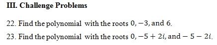 Sum and Product of Roots Worksheet (pdf) with Answer Key. 25 ...
