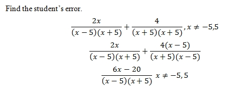Rational Expressions How to add and subtract rational expressions
