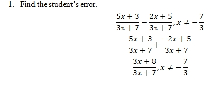 iii challenge problems - Adding And Subtracting Rational Expressions Worksheet