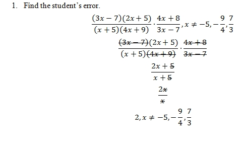 Multiplying Rational Expressions Worksheet Pdf With Answer Key 22