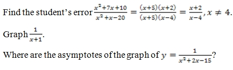 Simplify Rational Expressions Worksheet (pdf) with Answer ...