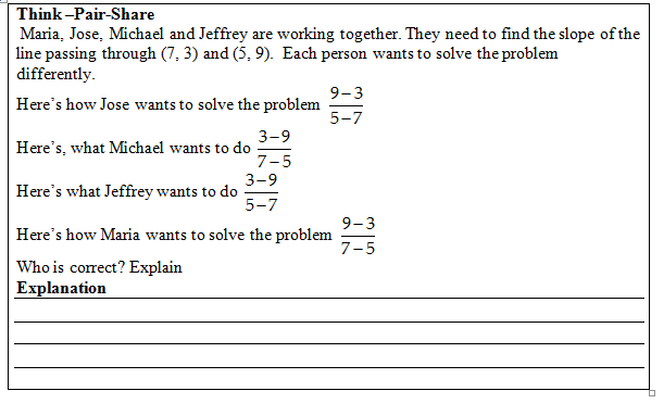 Slope of a Line Worksheet with Answer Key. Free pdf with visual aides ...