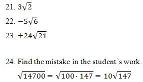 Simplifying Radicals Worksheet Pdf And Answer Key 25 Scaffolded