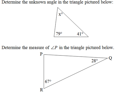 Triangle Interior Angles Worksheetpdf And Answer Key Scaffolded