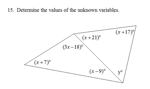 Triangle interior angles worksheet pdf and answer key - The exterior angle theorem answers ...