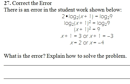 equation - Solving Logarithmic Equations Worksheet