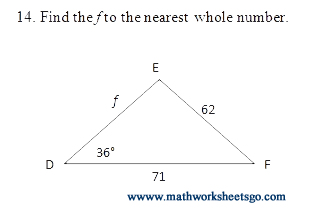 Printables Law Of Sines Worksheet law of sines and cosines worksheet with key pdf picture picture