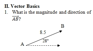 Vector Worksheet (pdf) with key  Focuses on resultant vectors  25
