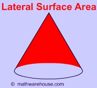 Lateral+area+of+a+cone+formula
