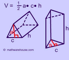 Picture of Formula of a Triangular Prism