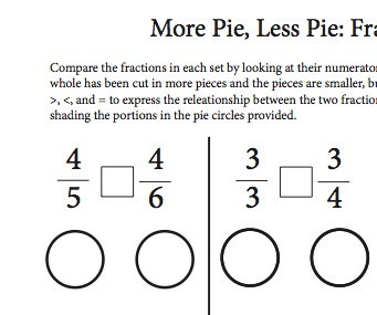 1765 best FRACTIONS images on Pinterest | Fractions, Teaching math ...