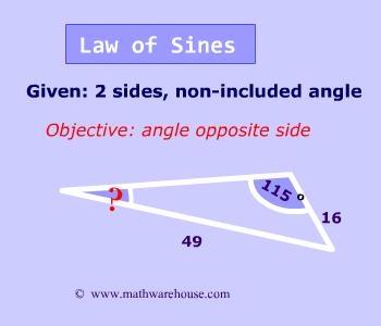 Law Of Sines And Cosines When To Use Each Formula Video Tutorial